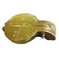 exhaust flapper Brass 4-1/8