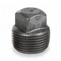 ⅛ inch NPT malleable iron square head plug