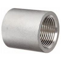 1 inch NPT full coupling 304 Stainless Steel