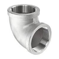 ⅛ inch NPT threaded 90 deg 304 Stainless Steel elbow