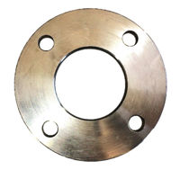 Picture of 1 inch Class 150 spaced Slip on Plate Flange 316 Stainless Steel