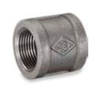 Picture of 1 inch NPT banded galvanized malleable iron full coupling