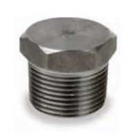 Picture of ¼ inch NPT Class 3000 Forged Carbon Steel hex head plug