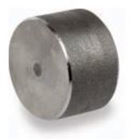 Picture of 2 inch forged carbon steel socket weld cap