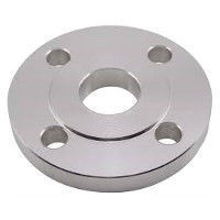 Picture of 2 x 1 inch class 150 carbon steel slip on reducing flange