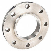 Picture of 5 x 2 inch class 150 carbon steel slip on reducing flange