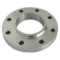 Picture of 6 x 5 inch class 150 carbon steel threaded reducing flange