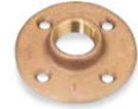 Picture of 1 inch NPT Class 150 Bronze Floor Flange