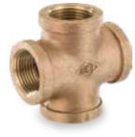 Picture of 1-¼ inch NPT threaded bronze crosses