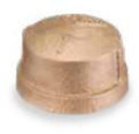 Picture of ½ inch NPT threaded lead free bronze cap